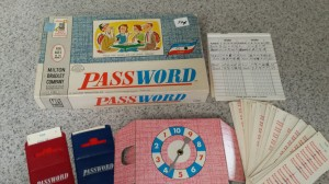 "Photo of the board game ""Password"""