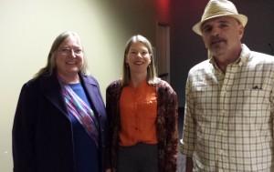 Brenda Huettner, Kim Rosenlof, and Lou Kummerer