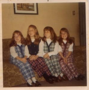 Brenda, Arlene, Sharon, Sally, 1970