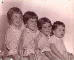Brenda, Arlene, Sharon, Sally, 1966