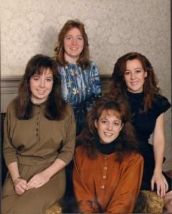 Brenda, Arlene, Sharon, Sally 1987